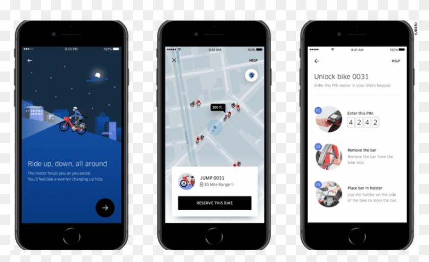 Free Png Download Uber Bike App Png Images Background - Uber