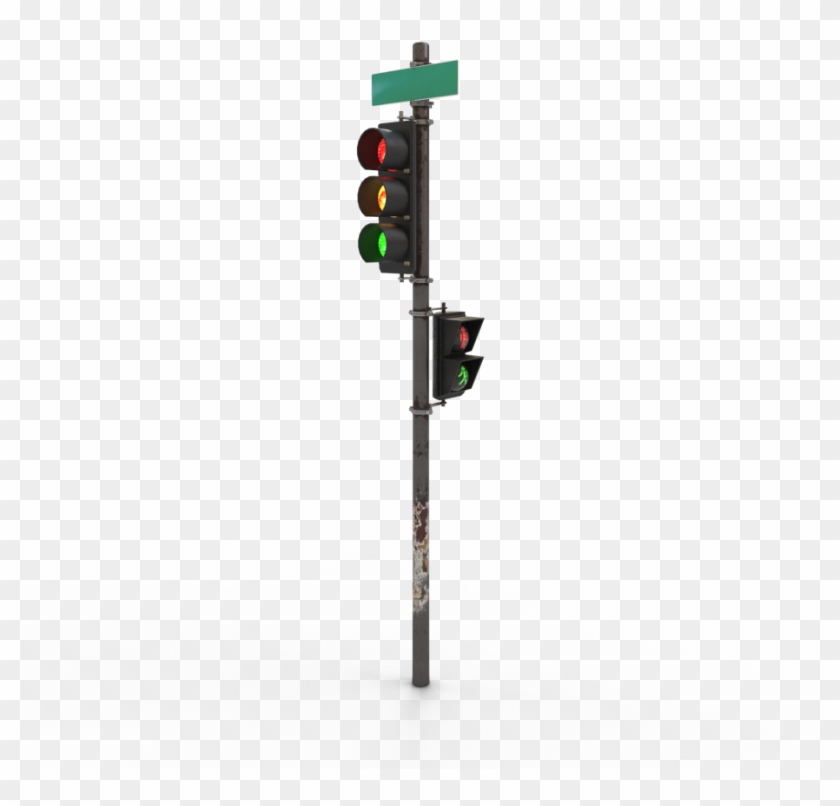 Traffic Light Png Download - Traffic Light 3d Model Free