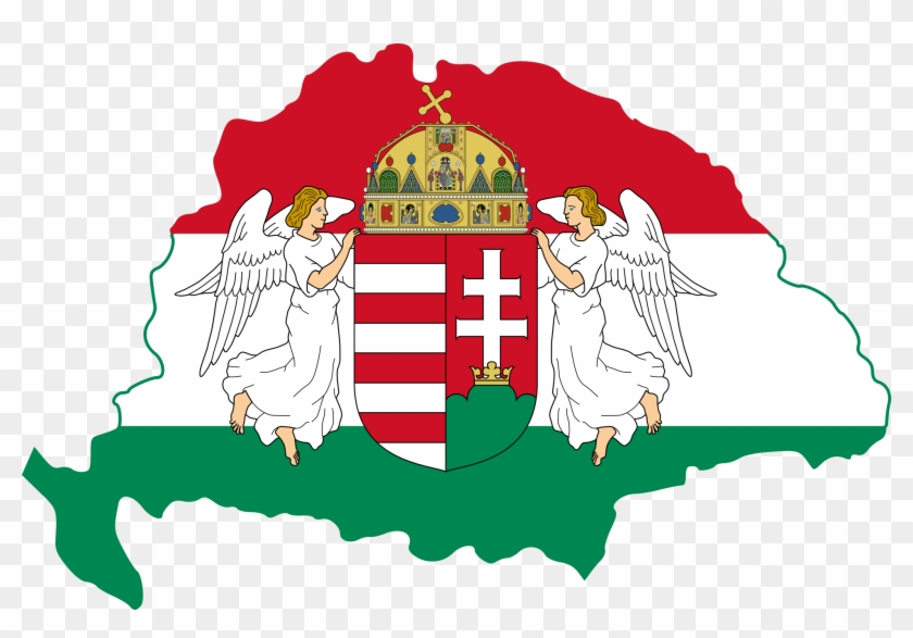 Kingdom Of Hungary Flag Map - Flag Map Of Hungary, HD Png Download on habsburg monarchy, siege of vienna map, kingdom of prussia, sukhothai kingdom map, duchy of burgundy map, holy crown of hungary, great moravia, republic of macedonia map, hungarian people, frankish kingdom map, republic of china map, democratic republic of the congo map, republic of florence map, kingdom of hungary 1910, hungarian language, mushroom kingdom map, union of soviet socialist republics map, mongol invasion of europe, house of habsburg, treaty of trianon, kingdom of hungary flag, stephen i of hungary, battle of varna, confederate states of america map, kingdom of yugoslavia, kingdom of hungary in world war 2, hungary counties map, kingdom of bohemia, kingdom of hungary in 1400, revolution of 1848 map, socialist federal republic of yugoslavia, ayutthaya kingdom map, confederation of the rhine map, john hunyadi,