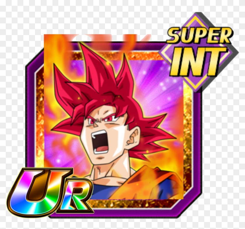 Saiyan Deity Super Saiyan God Goku Png Download Super