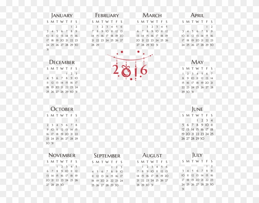 0, - 2017 Calendar Template With Us Holidays, HD Png