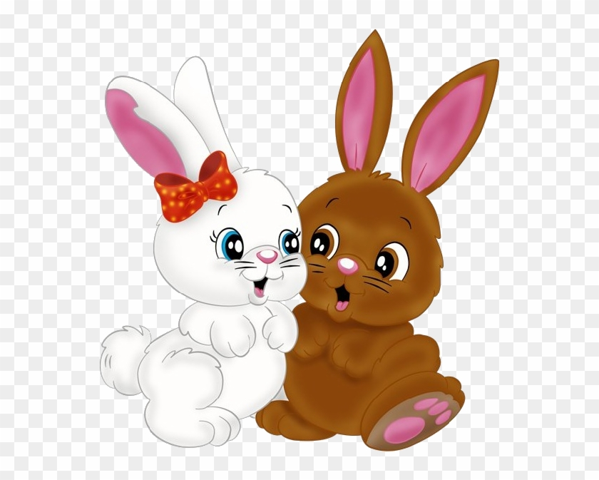 Easter Bunny Rabbit Drawing Png Image High Quality - Cute Bunny Rabbit  Cartoon, Transparent Png - 600x600(#5440803) - PngFind