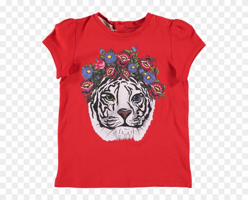 028a9f6e7 Baby Tiger Png - Gucci Graphic Tees, Transparent Png - 557x599 ...