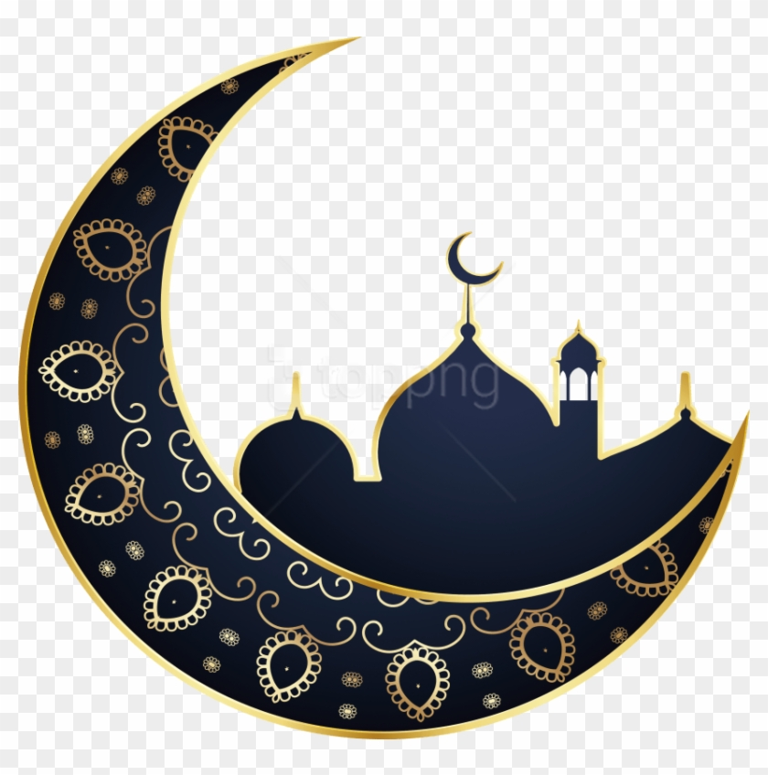 Moon ramadan. Download islamic material png