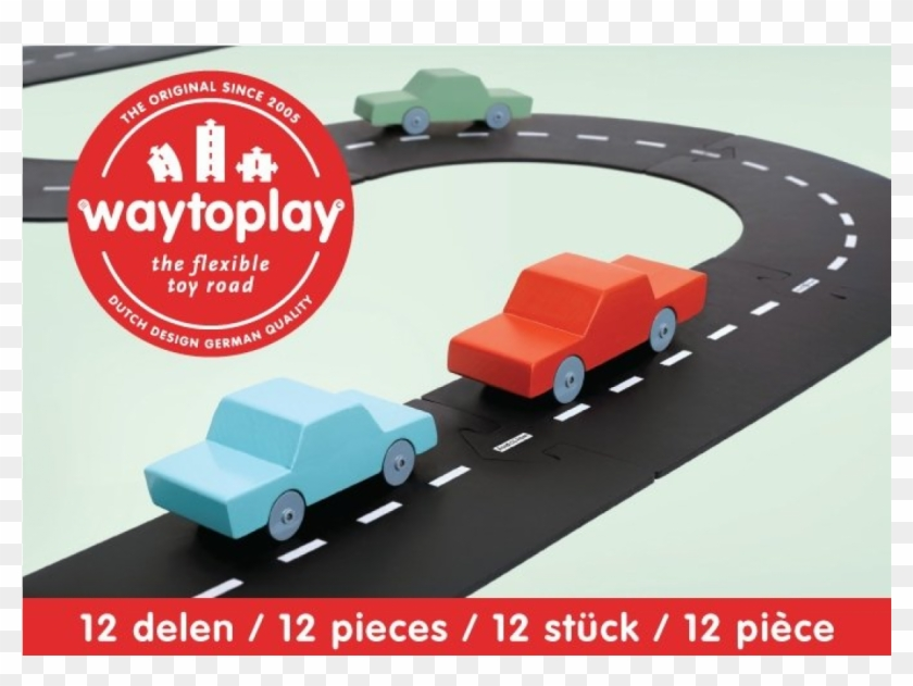 Way To Play Kids Road Car Road Toys Way To Play Spielstrasse Hd