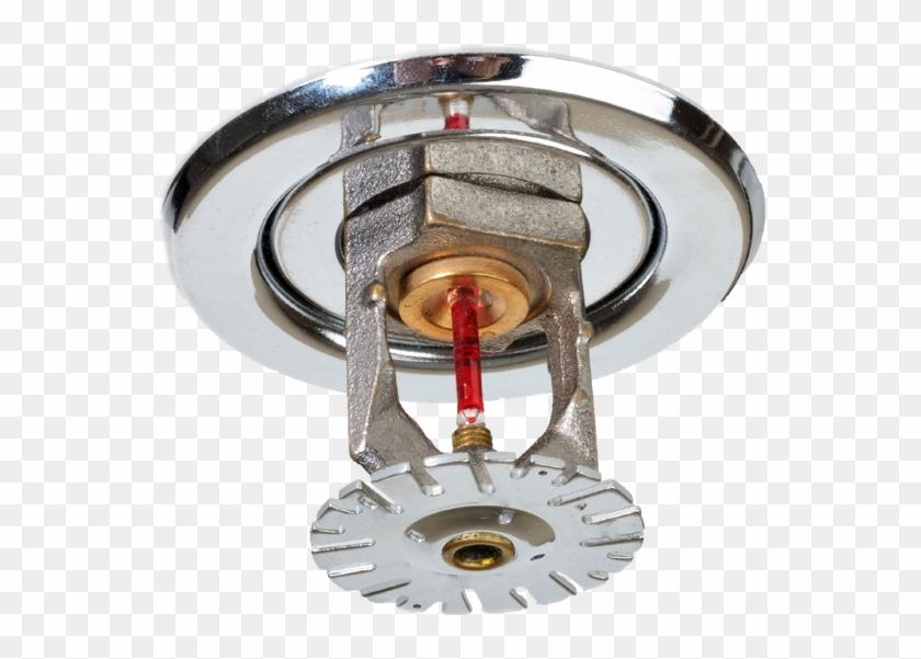 Chrome Fire Suppression Sprinkler Head - Water Sprinkler