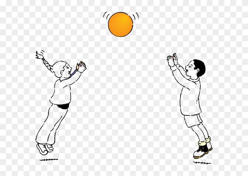 Ball Line Drawing Png Throwing And Catching A Ball