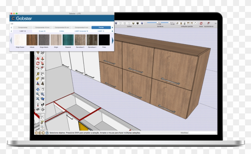 Mac Sketchup Acabame - Google Sketchup, HD Png Download