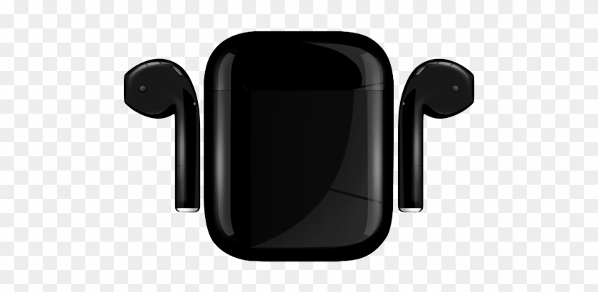 Apple Airpods Painted Special Edition, Black, Matte - سماعة ابل