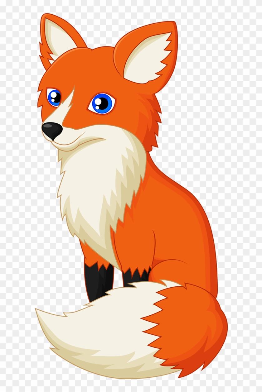 Fox cartoon. Cute clipart hd png