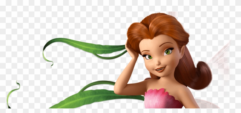 Rosetta Disney Fairies Tinker Bell Doll Brown Hair Rosetta