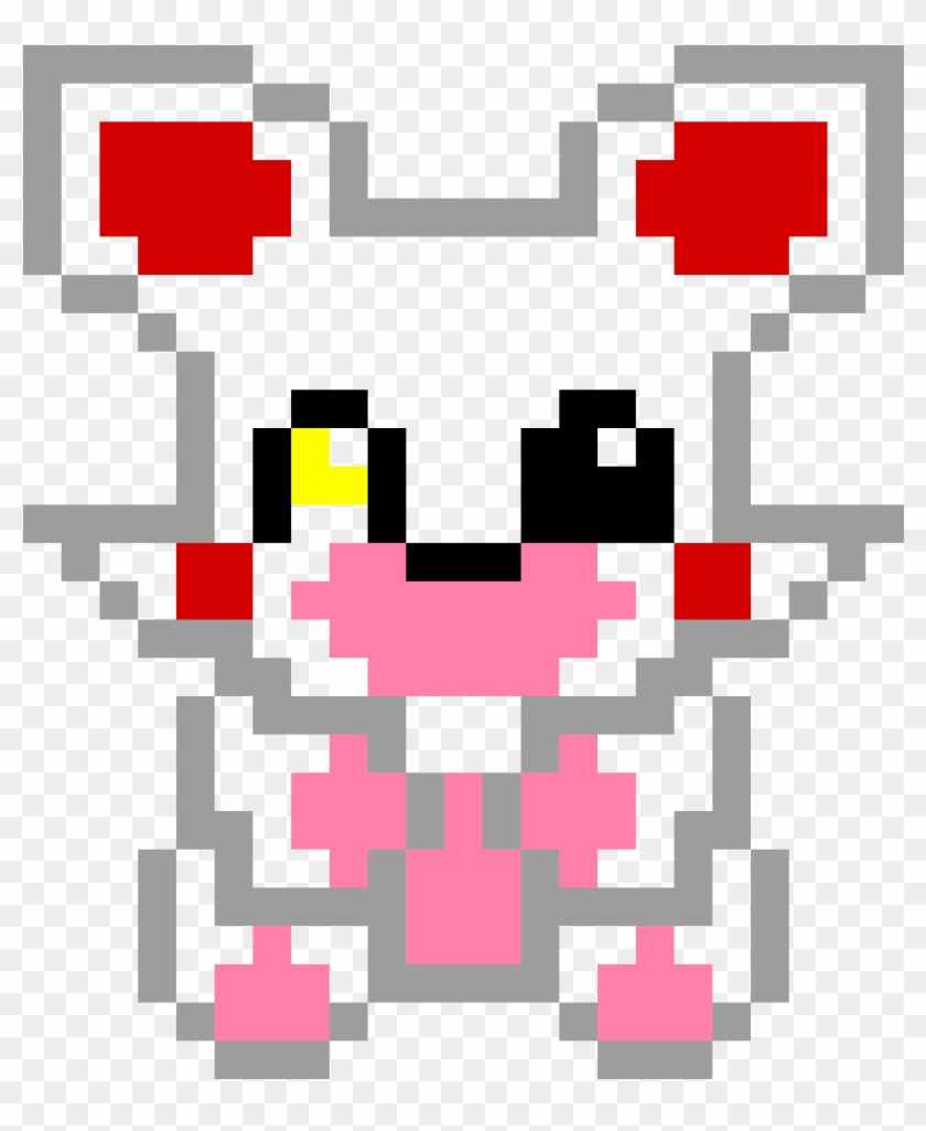 Mangle From Fnaf Foxy And Mangle Pixel Art Hd Png