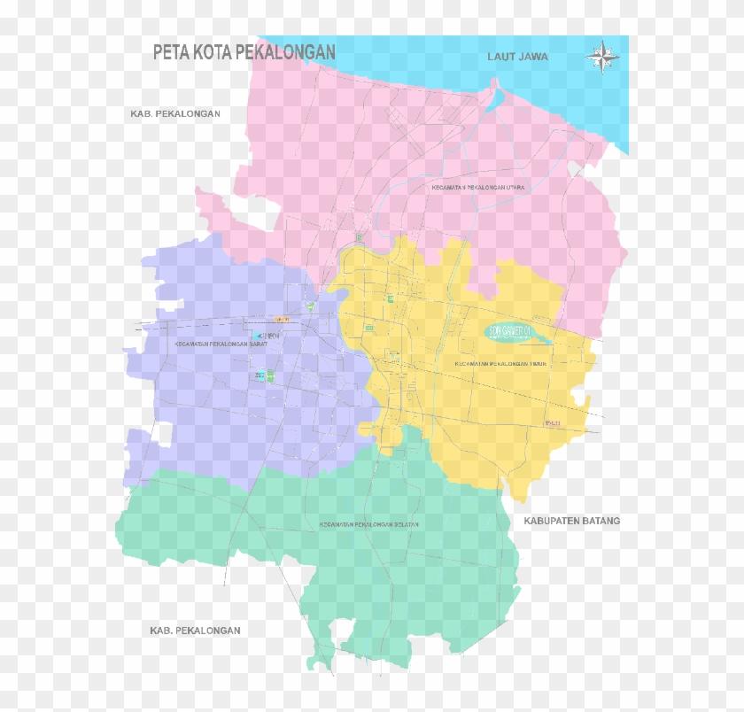 Peta Kota Pekalongan Atlas Hd Png Download 580x724 5585028 Pngfind
