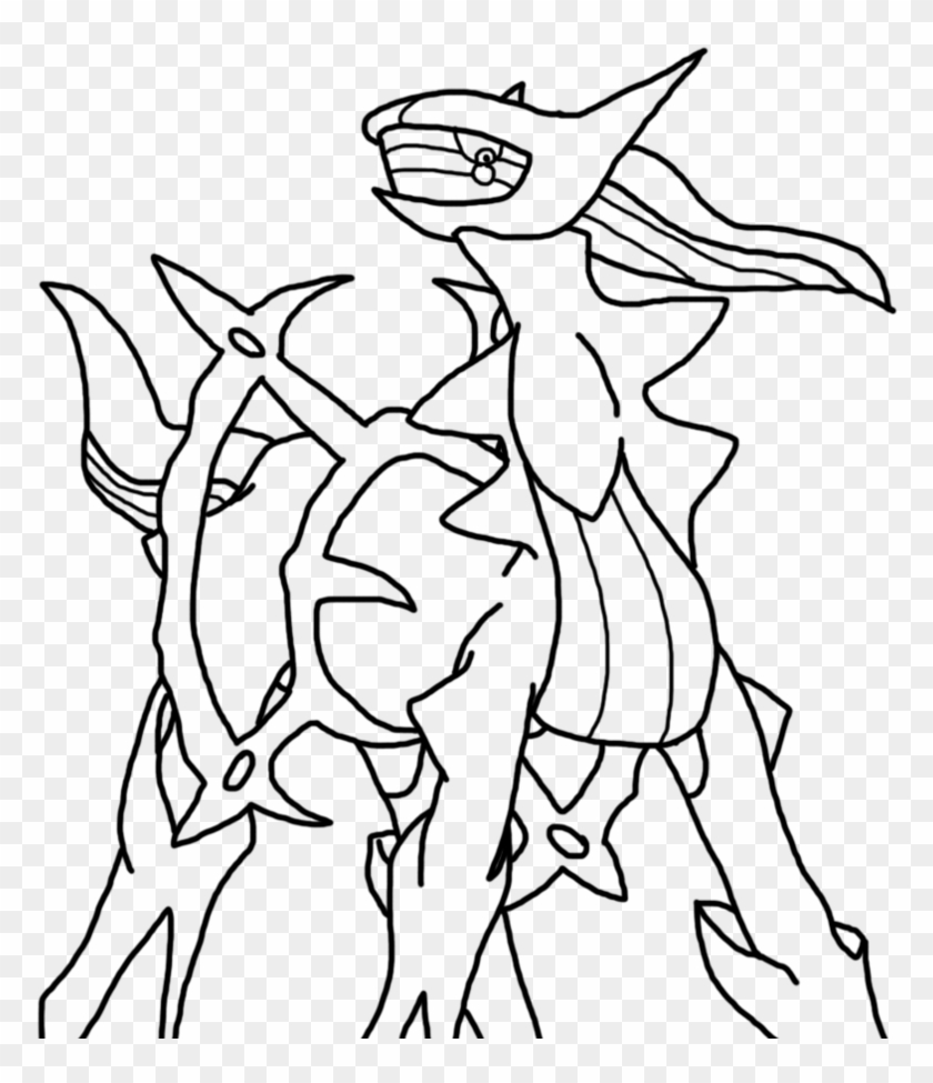 - Arceus Legendary Pokemon Coloring Pages - Drawings Of Pokemon