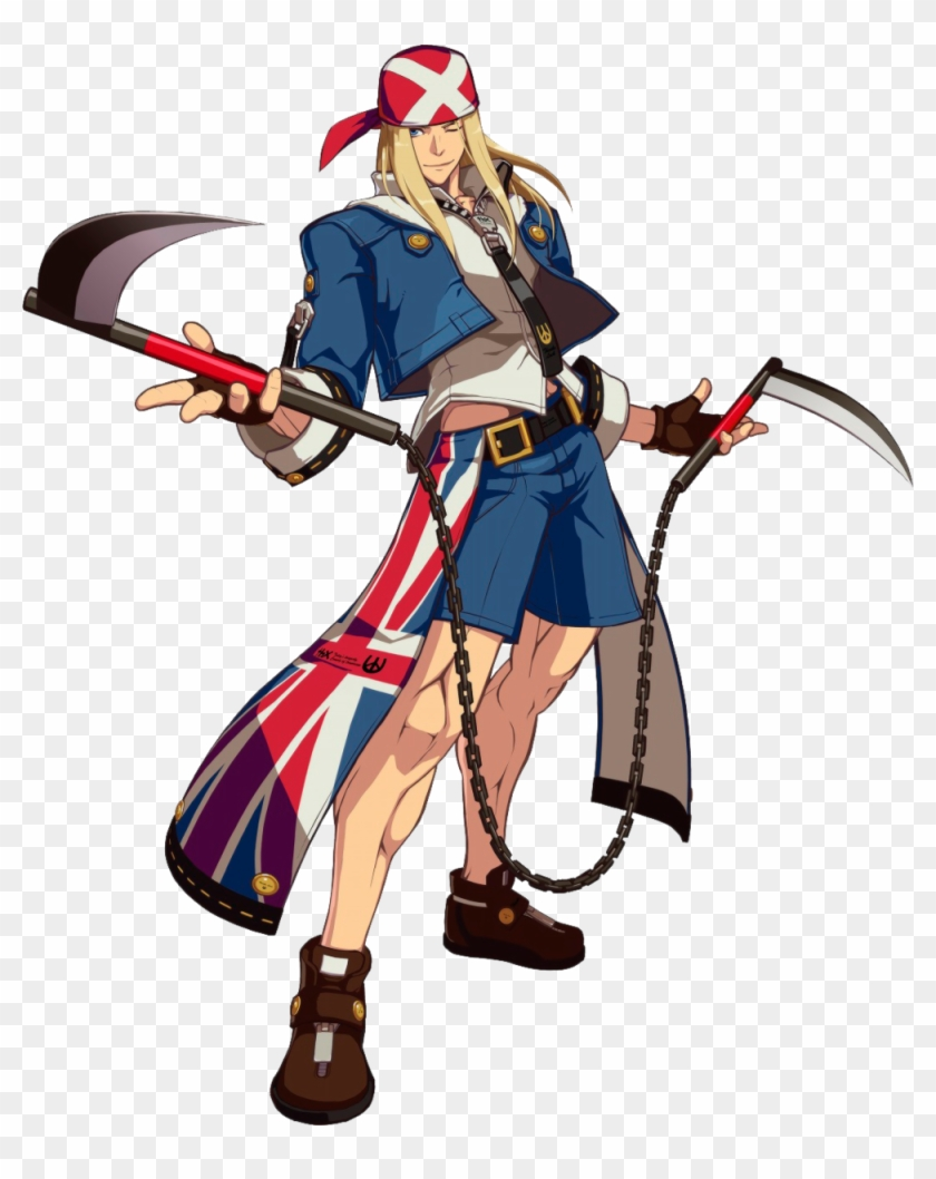 Axl Low Guilty Gear Characters Hd Png Download 1000x1213