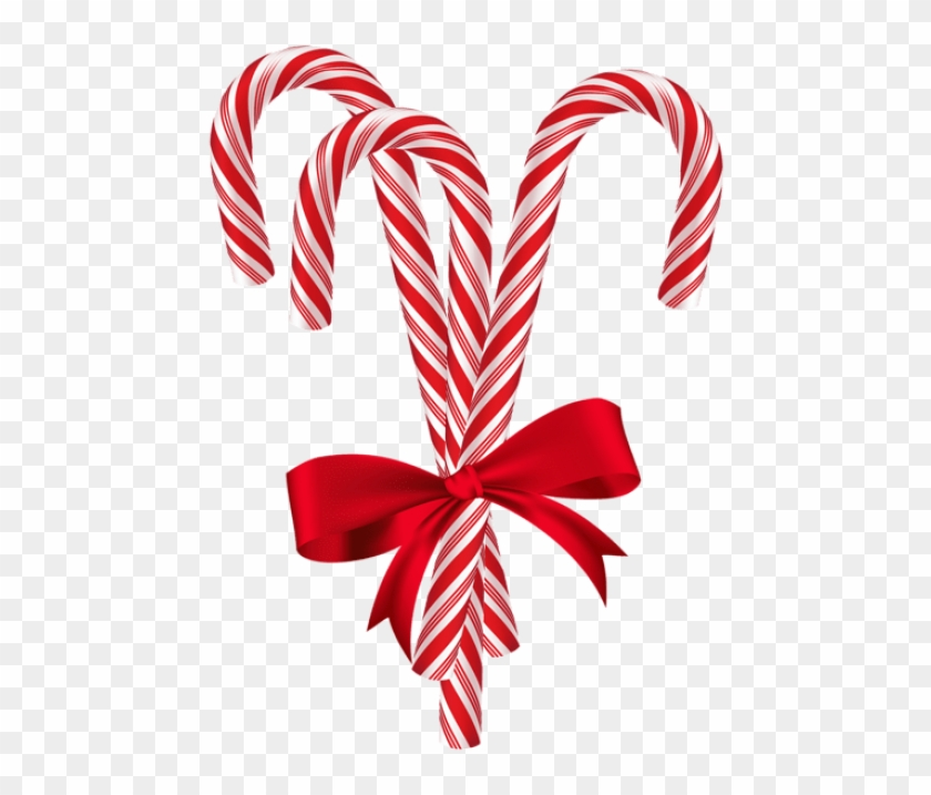 Christmas Candy Png.Free Png Candy Canes With Red Bow Png Christmas Candy