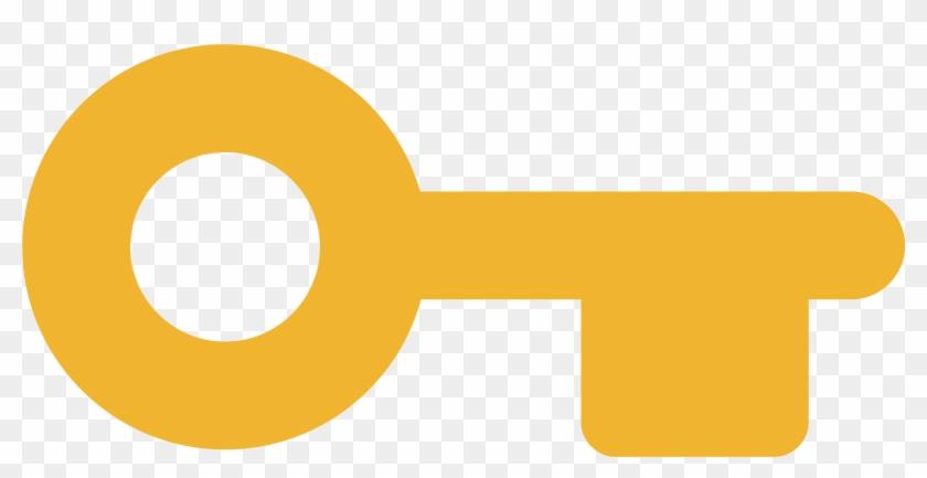 Dash Asset Key - Key Icon Transparent Orange, HD Png
