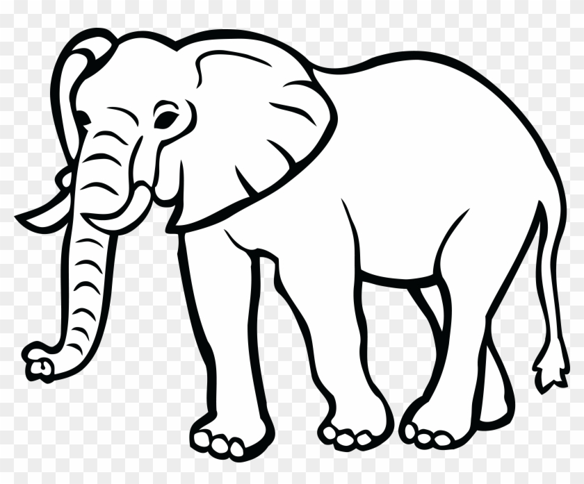 Clip Art Black And White Elephant Hd Png Download 4000x3132 568739 Pngfind Thin line black elephant on a ball icon, flat vector simple element illustration from. white elephant hd png download