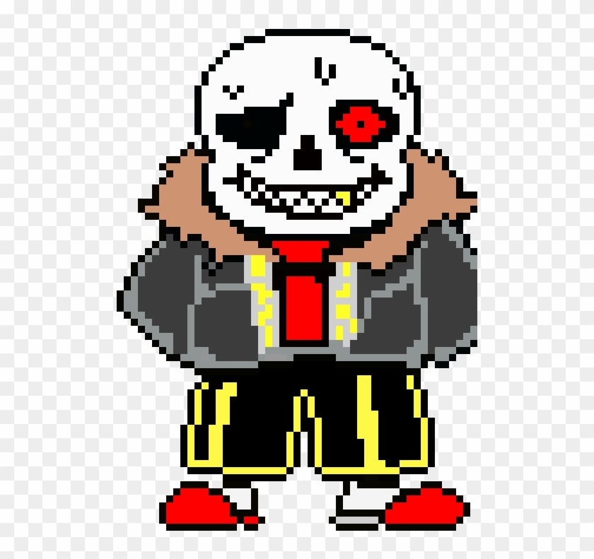 Create Your Own Edgy Sans =) - Underfell Sans Sprite, HD Png