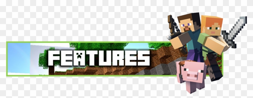 Img Minecraft Steve E Alex Hd Png Download 1486x510 5611232 Pngfind