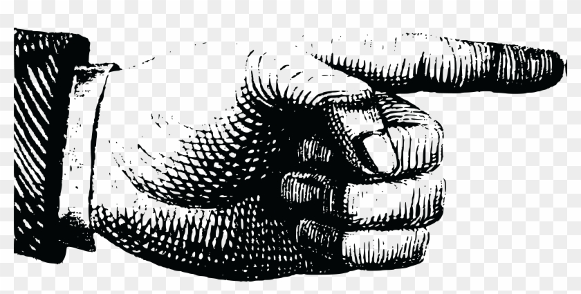 free clipart of a hand pointing vintage pointing hand png transparent png 4000x1835 5651278 pngfind vintage pointing hand png transparent