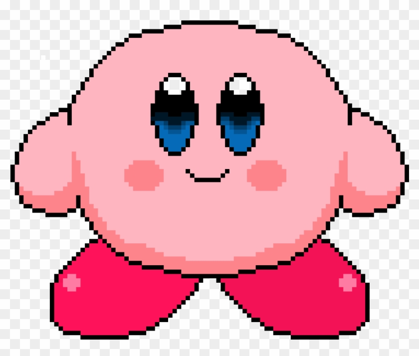 Kirby Pixel Art Big Minecraft Circle Chart Hd Png Download 911x731 5655237 Pngfind