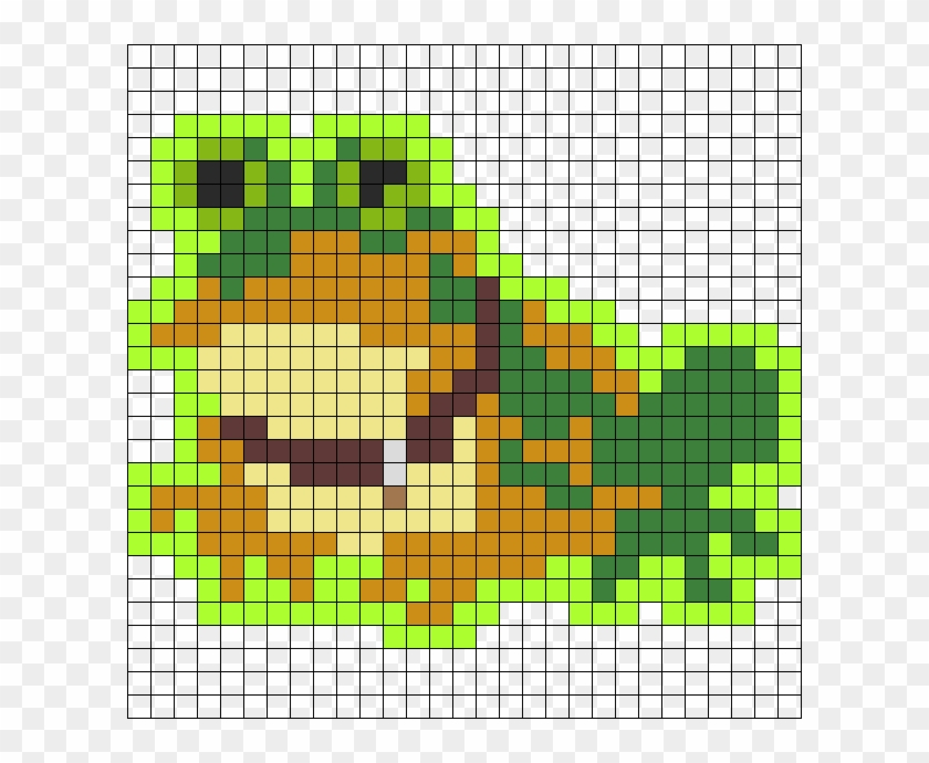 Hypnotoad Perler Art Hd Png Download 610x610 5662747