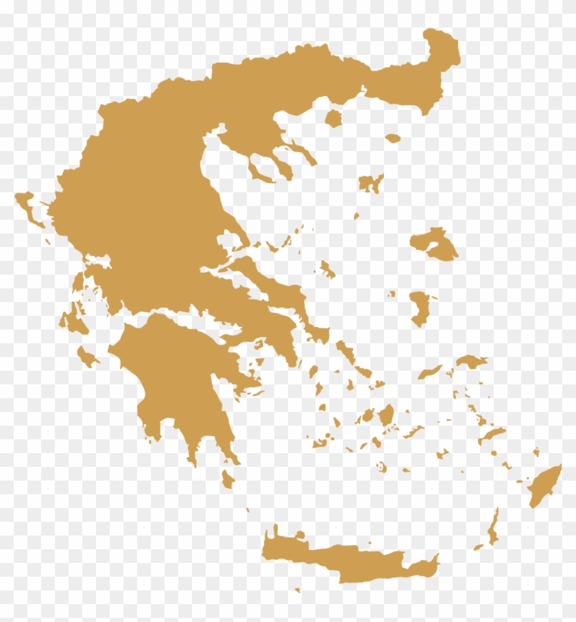 Dmc Greece Map - Greece Map Vector, HD Png Download ...
