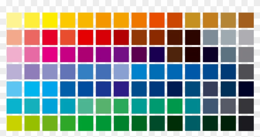 Color Palette Pantone De Colores Cmyk Hd Png Download 1671x803 5671593 Pngfind