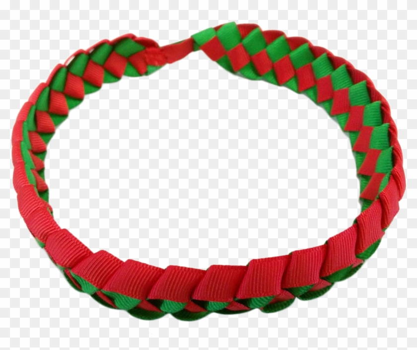 Christmas Headband Png.Small Dazzle Green Christmas Lei Headband Circle Hd Png