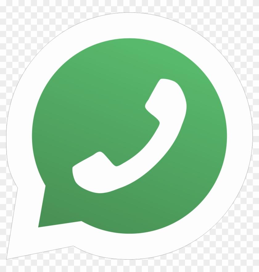 Whatsapp - Whatsapp Logo Png Hd, Transparent Png - 1569x1569