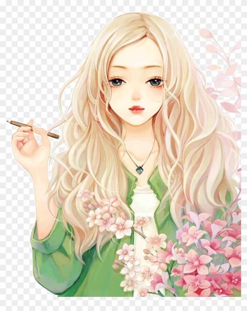 Blonde Anime Girls