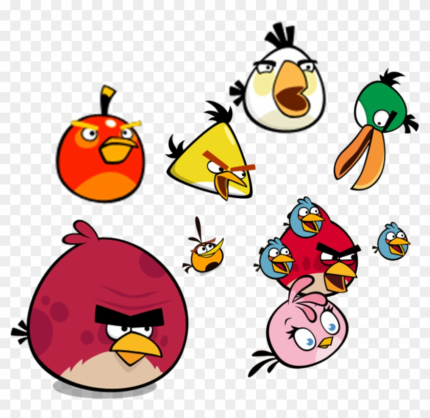 Angry Birds Comic - Angry Birds Classic Terence, HD Png