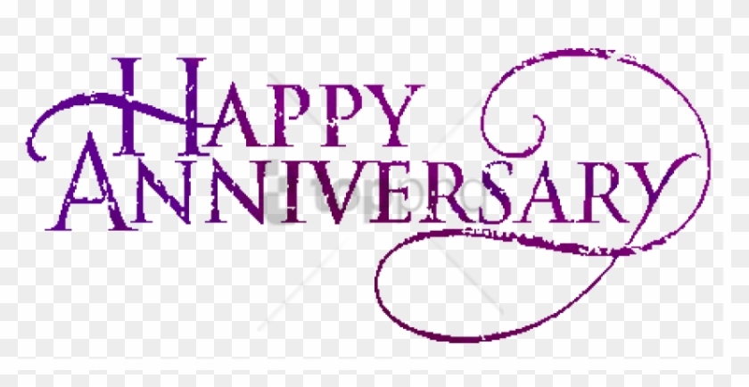 Anniversary Text Png Image With Transparent Background Happy Work Anniversary Clipart Png Download 850x399 5697719 Pngfind