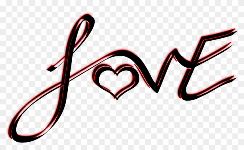 Love Png Text - Heart, Transparent Png - 960x617(#570318