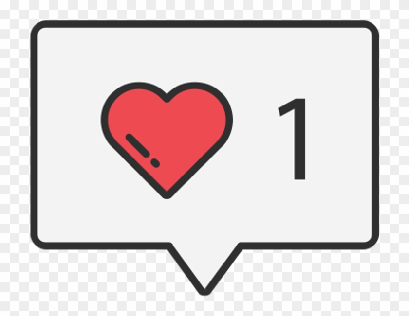 Instagram love. Clipart like emoji hd