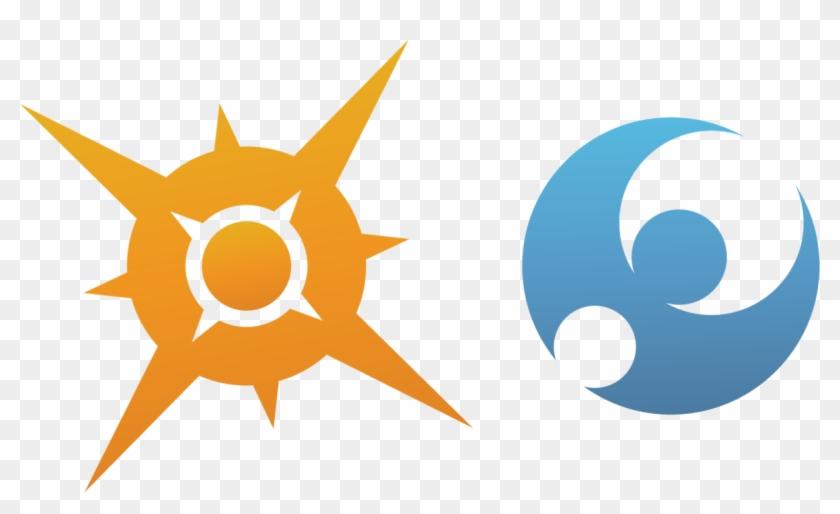 Pokemon Sun Logo Png - Sun And Moon Pokemon Symbol