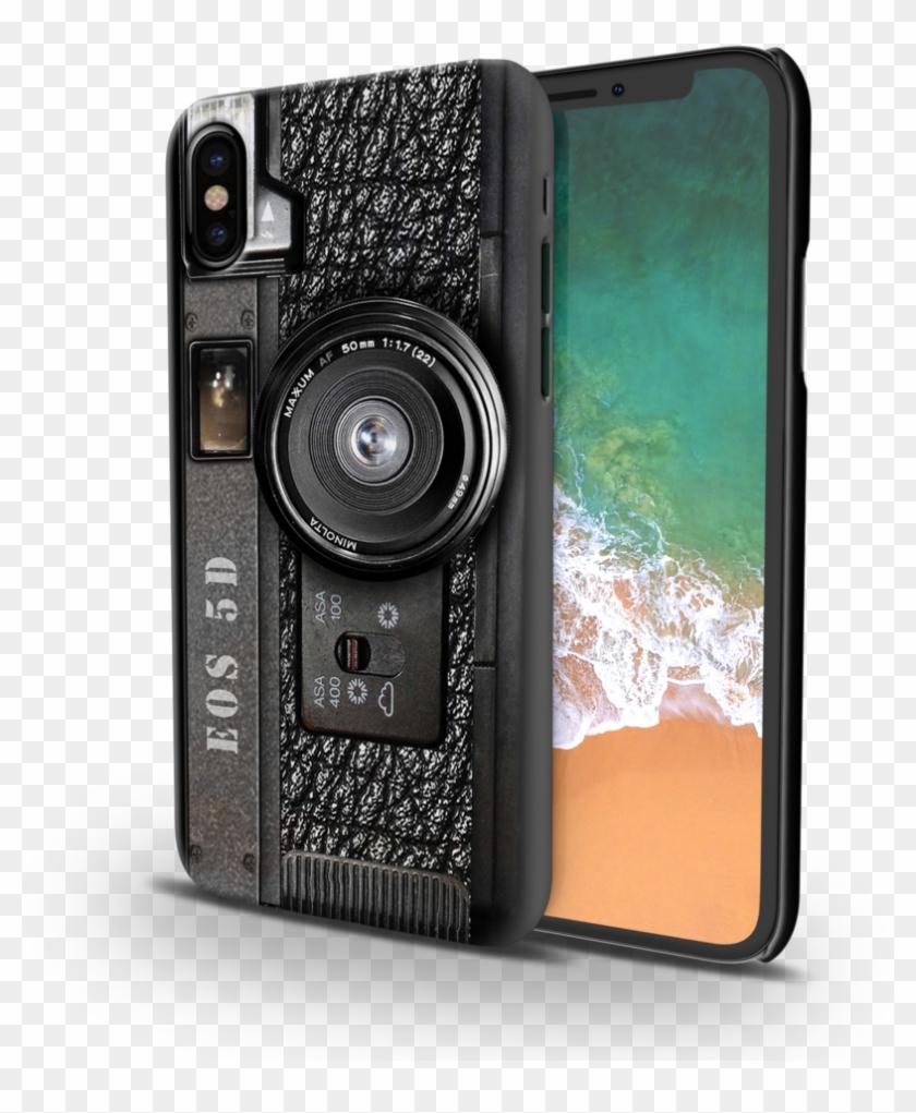 Camera Design Back Cover Case For Iphone X - Camera Print