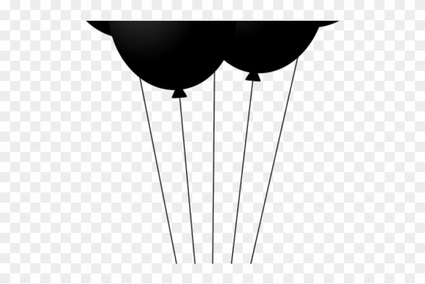 Black Balloons Cliparts Balao Preto Png Desenho Transparent Png