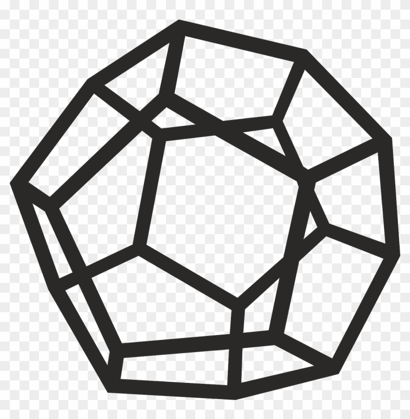 Esoteric Metaphysical Occult Png Image - Dodecahedron Clipart