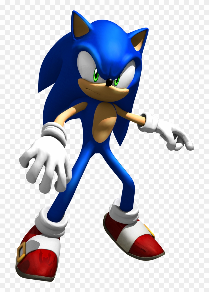 Sonic The Hedgehog Clipart Spiderman Sonic The Hedgehog 06 Render Hd Png Download 720x1096 5733493 Pngfind