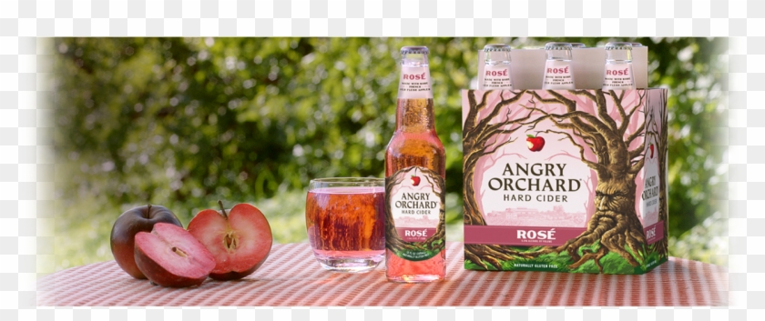 Angry Orchard Rose Beer, HD Png Download - 1283x479 ...