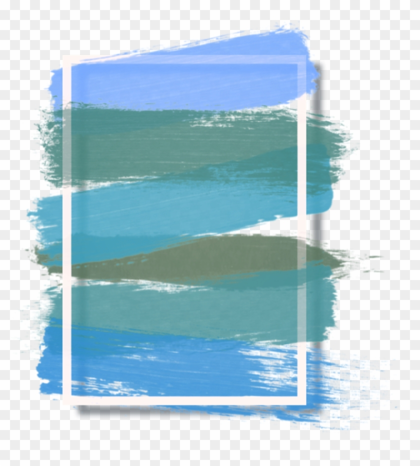 Blue Paint Splash Modern Colorful Abstract Background