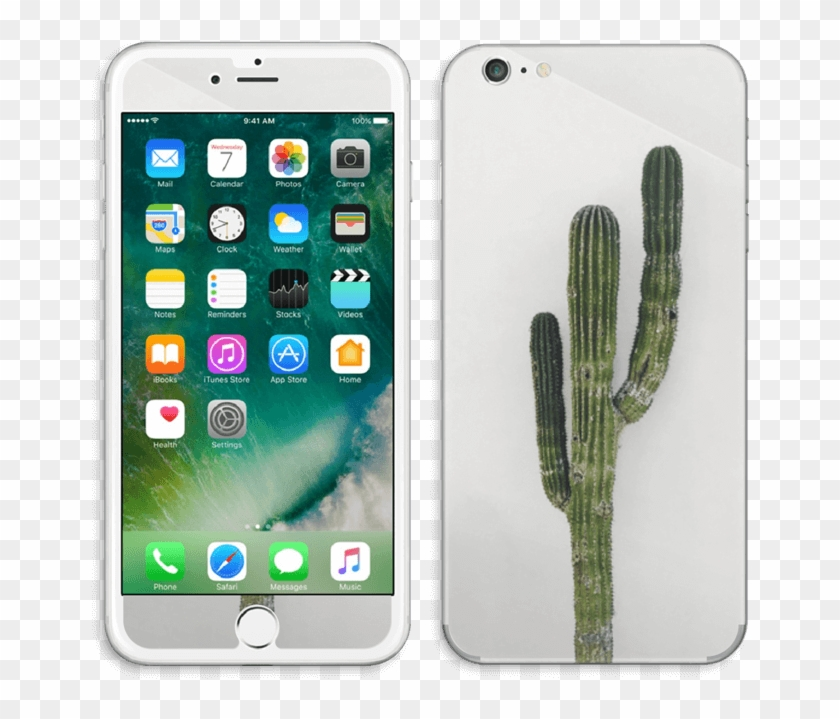 Mexican Cactus Skin Iphone 6 Plus - Face Of Iphone 7, HD Png
