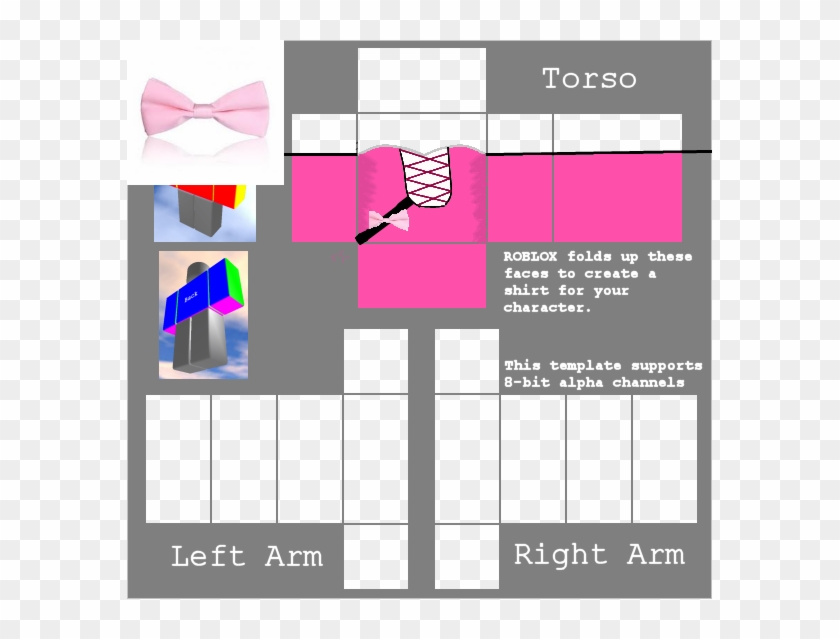 Shirt Template Roblox Transparent R Bown Hack Robux - tails outfit torso roblox