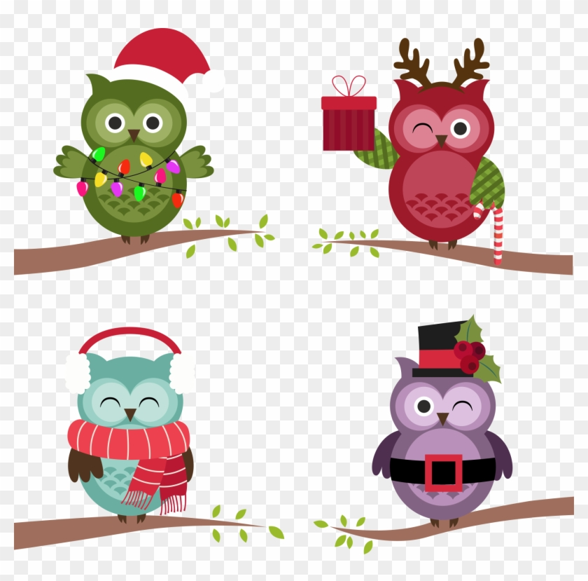 Owl Christmas Free Clipart Hd Clipart Christmas Owl Png Transparent Png 1830x1719 5771922 Pngfind