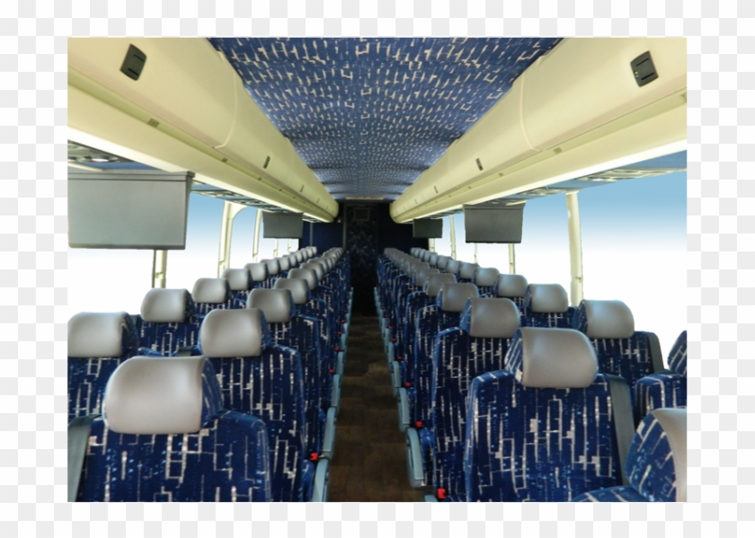 5838 Interior - Prevost H345 Passenger Coach, HD Png