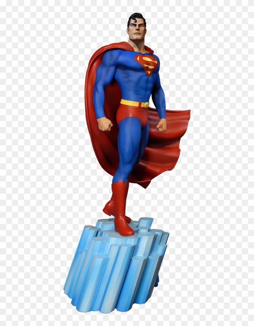 Dc Comics Maquette Super Powers Superman, HD Png Download