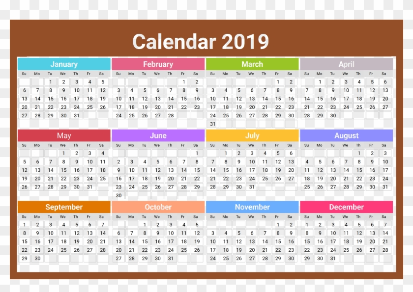 Calendar 2019 India Download 2019 Calendar India With Holidays, HD Png Download   2756x1823