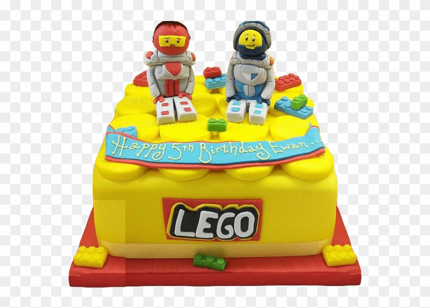 600 X 530 5 - Lego Birthday Cake Png, Transparent Png